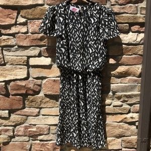 Betsy's Things Vintage Fit and Flare graphic Dress